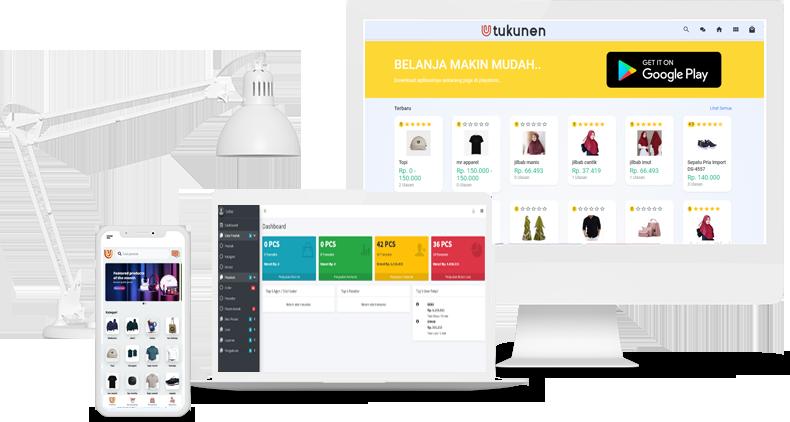 source code toko online android dan web e commerce (Unlisensed - developer)